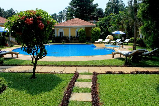 Casa De Goa Boutique Resort: The villa in the view is the one where I stayed
