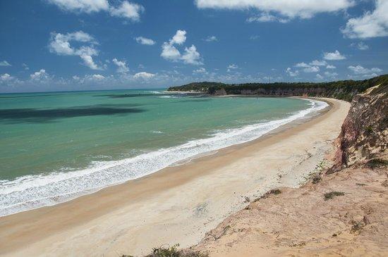 Santuario Ecologico de Pipa : Playa de Madeiro que bordea el Santuario