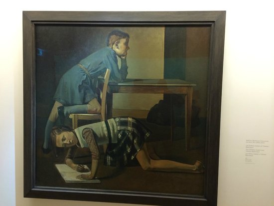 balthus picture of musee picasso paris paris tripadvisor. Black Bedroom Furniture Sets. Home Design Ideas