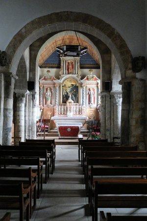 Eglise Romane de Locquenole