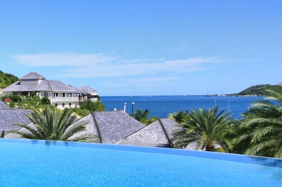 Nonsuch Bay Resort: View from Infinity Pool