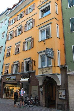 Feichter Hotel : Frente del Hotel Feichter