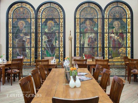 Interieur in \'t Elfde Gebod - Picture of Grand Cafe \'t Elfde Gebod ...
