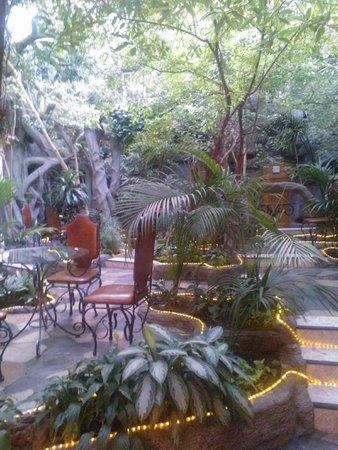 Sretenskaya Hotel: Вход в зимний сад