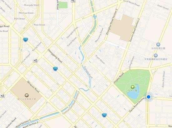 map still does not make it easy - Picture of Holiday Inn Express ...