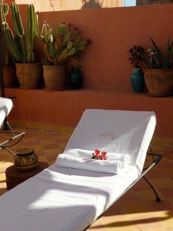 Maison Arabo Andalouse: Please relax here .....