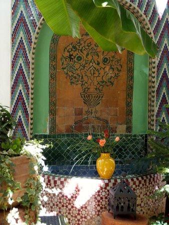 Maison Arabo Andalouse: In the Courtyard