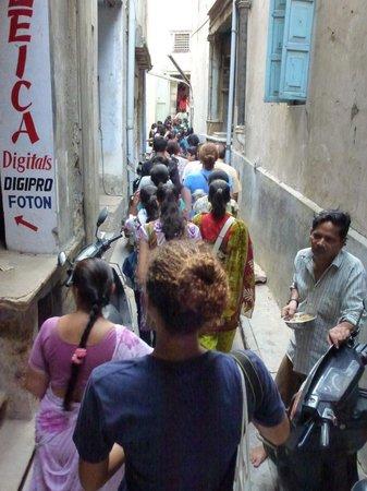 Heritage Walk of Ahmedabad: street