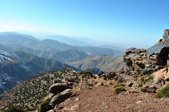 Fes-Boulemane Region, Morocco: high atlas mountian