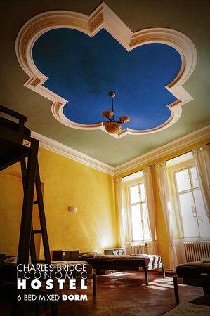 Charles Bridge Economic Hostel: 6 bed dormitory
