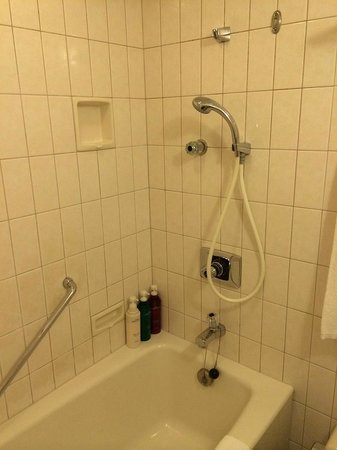 Shower head is movable. - Picture of Star Gate Hotel Kansai Airport ...