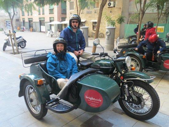 Foto de BrightSide, Barcelona: Brightside sidecar tour of ...