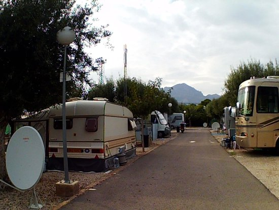 Camping La Torreta: a view of the hills around.