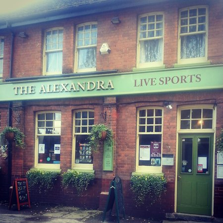 The Alexandra: Front view