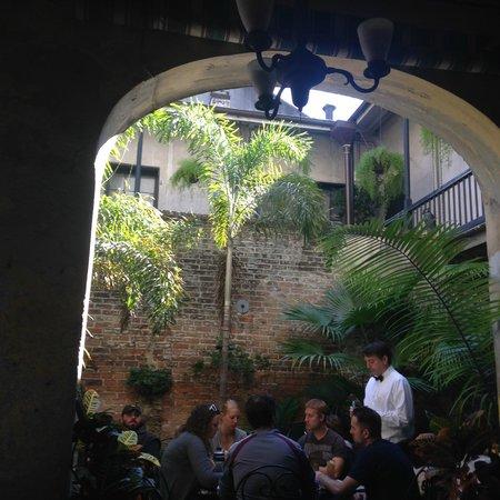 Napoleon House : Courtyard
