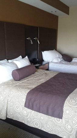 Best Western PREMIER Bryan College Station: Nice, comfortable beds