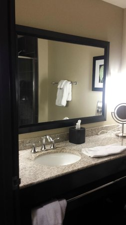 Best Western PREMIER Bryan College Station: Clean bathroom with all comforts of home