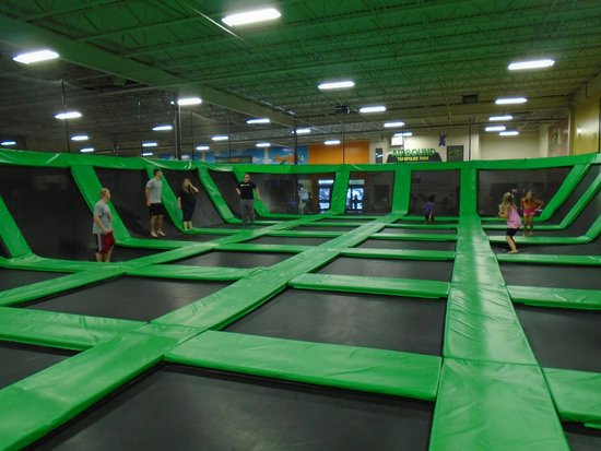Trampoline Park Winston Salem North Carolina