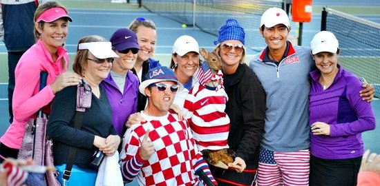 John Newcombe's Tennis Ranch: Team USA