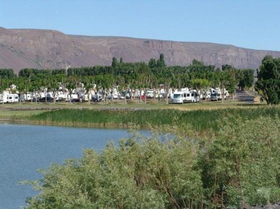 View Of Rv Park Picture Of Smokiam Resort Soap Lake
