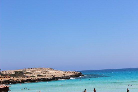 Nissi Beach Resort: Вид