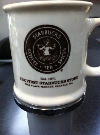 first starbucks store cup picture of starbucks seattle tripadvisor