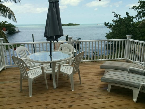 Captain Pip's Marina & Hideaway: Relax & enjoy open water views