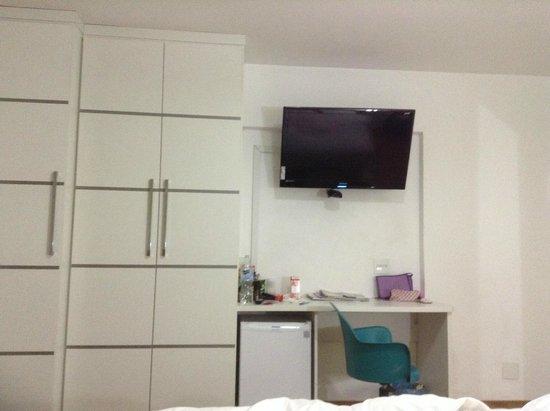 Capcana Hotel São Paulo Jardins : vista da cama ;)