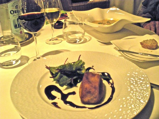 Les Grains D'Argent : One of the amazing dishes we had at the restaurant.