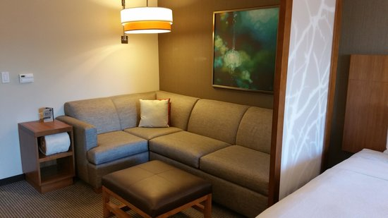 Cozy Corner Sofa Sleeper - in every room - Picture of Hyatt Place at ...