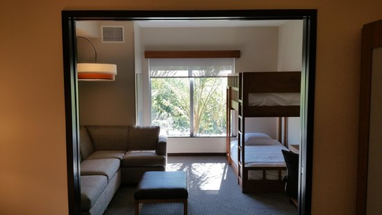 Specialty King With Twin Bunk Beds And Cozy Corner Sofa Picture Of