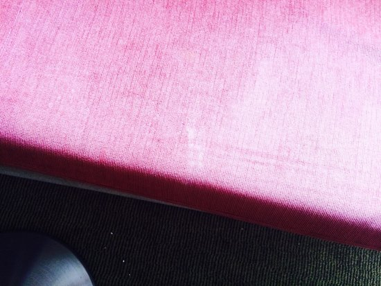 Holiday Inn Haydock M6, Jct 23: Stained sofa bed