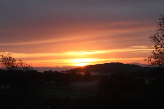 Colvend, UK: Sunrise from Whin