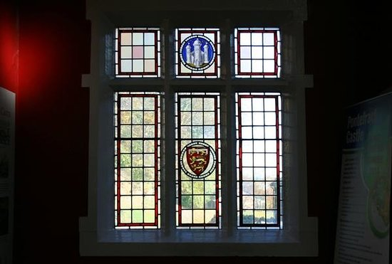 Pontefract Castle: Stained Glass in Visitor Centre