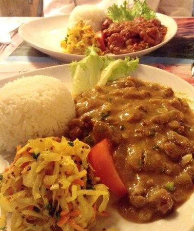 Restaurant L'Ile Maurice: Pork Masala