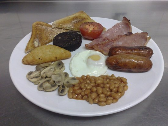City Cafe: Full English Breakfast