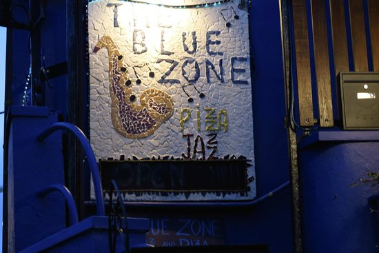 Blue Zone: Look for this Sign