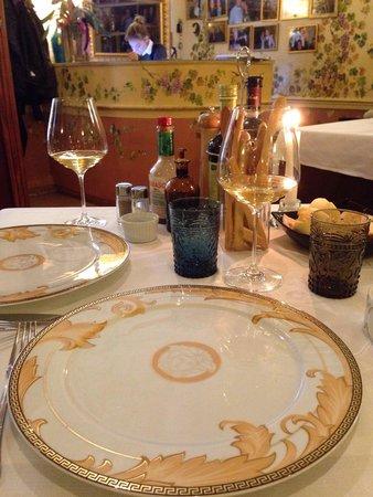 Torcolo: Сервировка стола