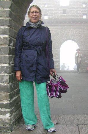 Pinggu Jiangjunguan Great Wall: torretta di avvistamento