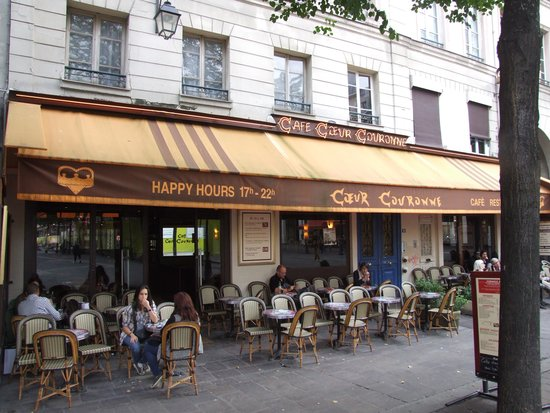 Cafe Coeur Couronne Paris