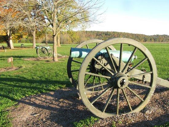 Wilson's Creek National Battlefield: front lines