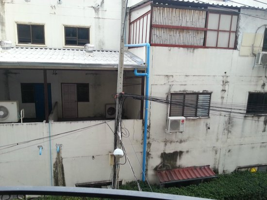LK Metropole : my bedroom view