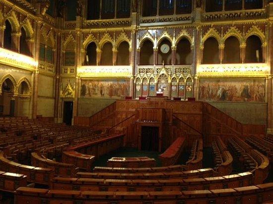 Hungarian Parliament Building Budapest   Interior