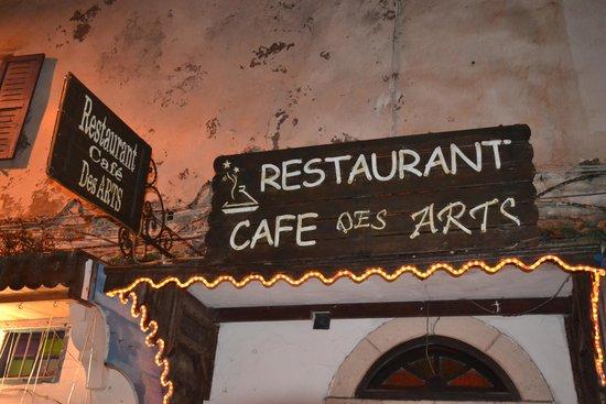 Restaurant Des Arts : Entrée