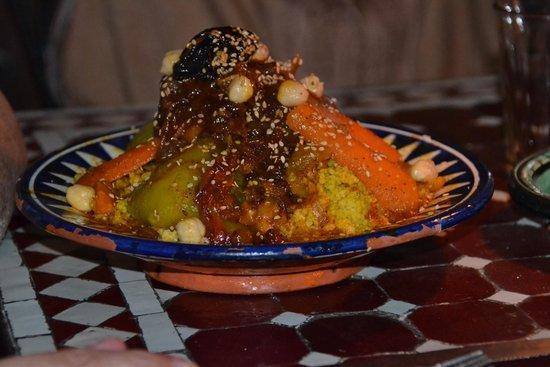 Restaurant Des Arts : Couscous poulet