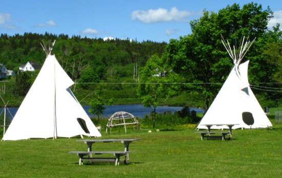 LaHave, Canada: Mi'kmaq village and picnic spots