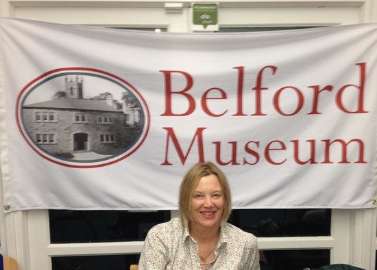 Belford Museum: We have a banner kindly donated by local supporter