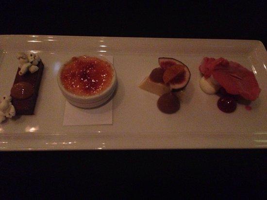Reserve Restaurant Milton : Dessert tasting plate!