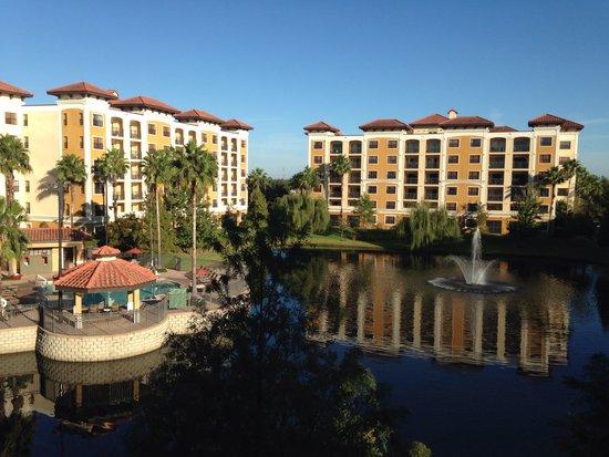our balcony picture of floridays resort orlando orlando. Black Bedroom Furniture Sets. Home Design Ideas
