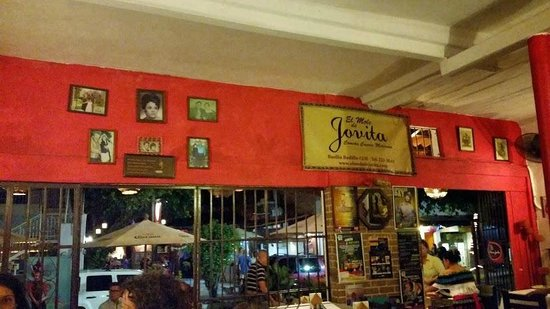 El Mole de Jovita: The wall paying homage to the owner's mother Jovita and grandmother